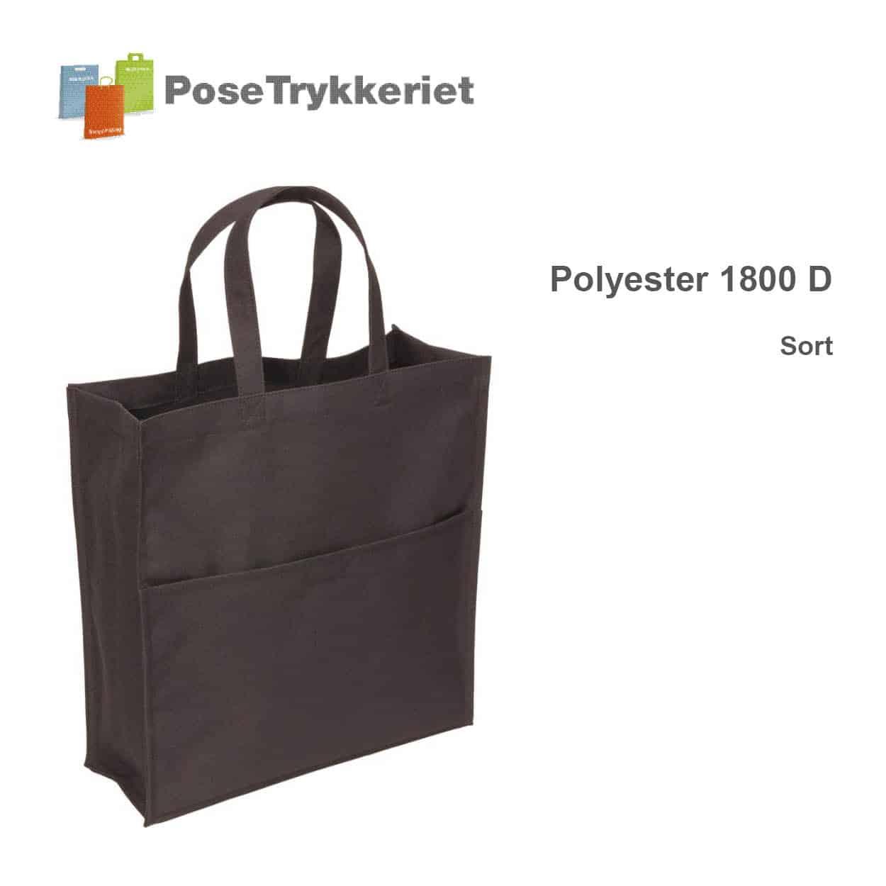 Revisor poser polyester 1800 D. PoseTrykkeriet.dk