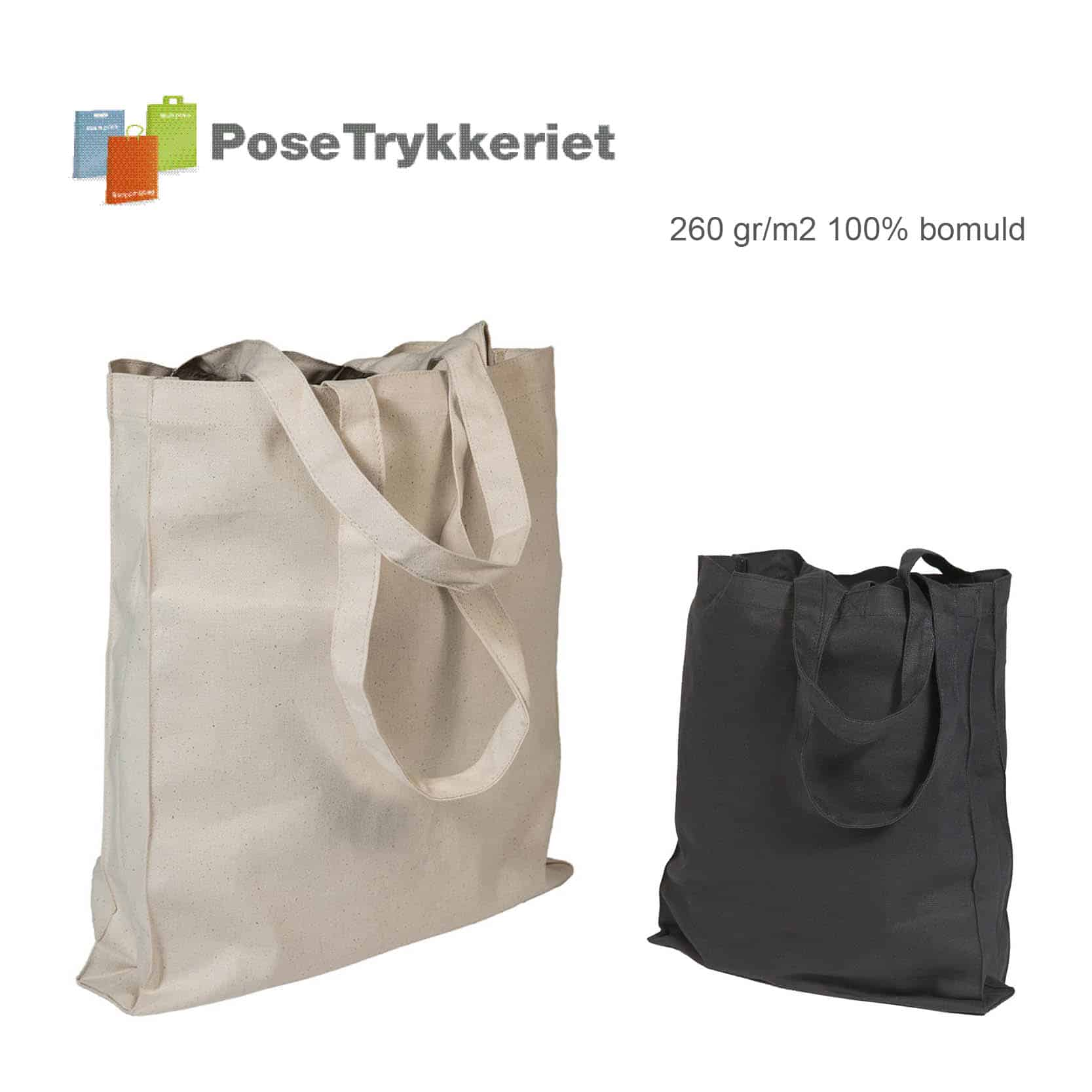 Indkøbsnet i kraftig kvalitet. PoseTrykkeriet.dk